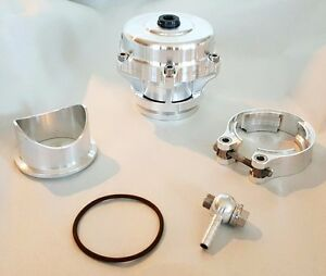Tial 50mm Q Blow Off Valve Bov Kit 2 Psi Silver ver 2 For Supercharged Setup