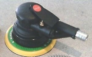 Quality Dynabrade style Dual action Air Palm Sander Velcr0 Pad incl Dusthose Da
