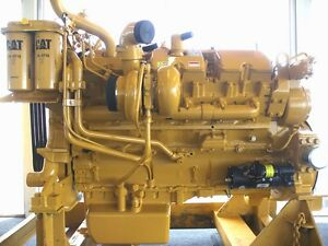 Cat 3412e Diesel Engine Caterpillar 3412e For Cat D10r S n 5jj Ar 17