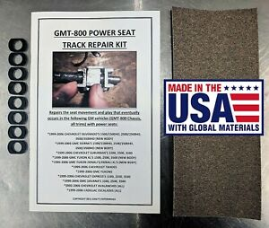 Gm Chevy Power Seat Track Unwanted Movement Play Repair Kit