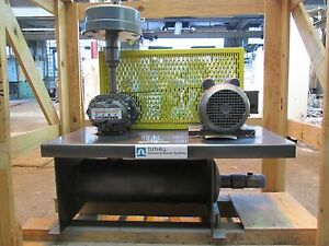 Vacuum Unit New 2hp 1 Phase Mod 2002 2 13 20 8 Complete Package