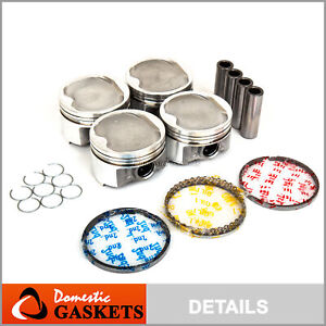 98 01 Toyota Camry Solara 2 2l Dohc Pistons And Rings Set 5sfe