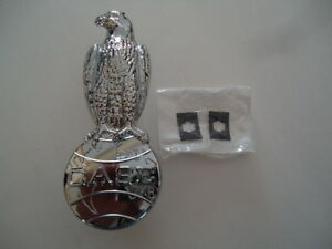 New Chrome Eagle Emblem For Case 1030 1200 430 450 630 700 530 730 800 830 930