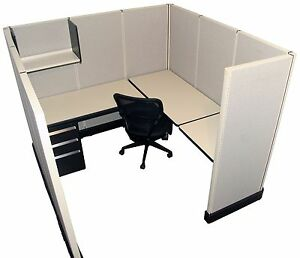 Herman Miller Ao2 6 x6 Office Cubicles Workstations Refurbished Furniture