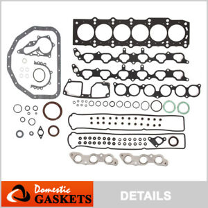 Fits 98 05 Lexus Gs300 Sc300 Is300 3 0l Dohc Full Gasket Set 2jzge
