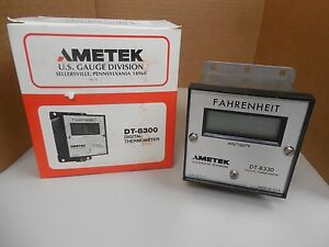 Ametek Digital Thermometer Dt 8330 Type K 400 1500 F Nib