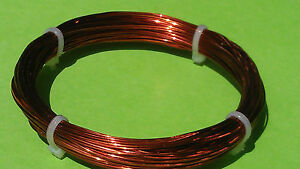0 50mm 20m 24 Gauge Awg Enameled Copper Magnet Wire Conductor Winding 60ft 24g 1