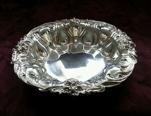 Sterling Silver Meriden Britannia Co Lily Bowl