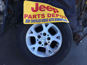 16 1999 2000 2001 2002 2003 2004 Jeep Grand Cherokee Oem Alloy Wheel Rim 9027