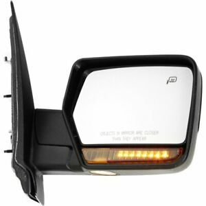 Mirror For 2007 2008 Ford Expedition Lincoln Navigator Right Heated Chrome