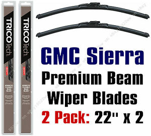 Wipers 2 Pack Premium Beam Blade Wiper Blades Fit Gmc Sierra 1999 2015 19220x2