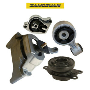 Engine Motor Trans Mount 4pcs For 2007 2012 Nissan Altima 2 5l Cvt For Auto