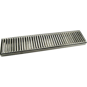 Countertop Drip Tray 19 Stainless Steel No Drain Bar Draft Beer Spill