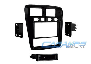 Single Or Double 2 Din Car Stereo Receiver Dash Installation Trim Kit For Camaro