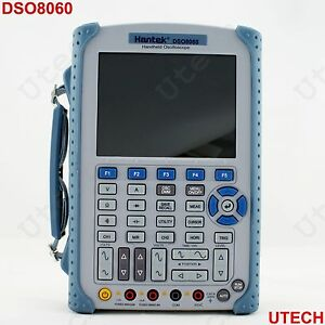 New Dso8060 60mhz Portable Handheld Oscilloscope Dmm Spectrum Generator Counter