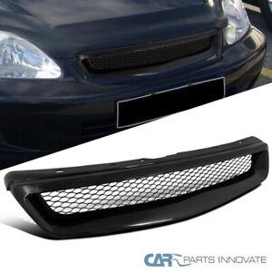 Fit 1999 2000 Honda Civic Lx Ex Si Front Mesh Grill Grille