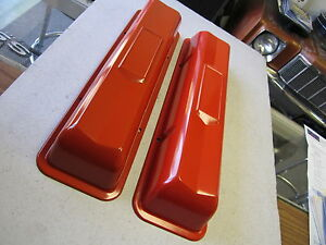 1964 65 66 67 Chevelle Corvette Nova Impala Or Style Valve Covers 283 327 350