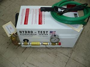 General 6334 350 Hydrostatic Test Pump New