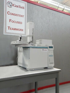 Agilent 6890 Plus Gc With Fpd 7683 Autosampler