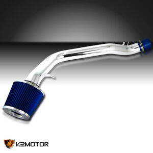 1990 1993 Acura Integra 1 7l 1 8l L4 Cold Air Intake Induction Kit blue Filter