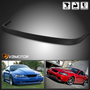 Fit 1999 2004 Ford Mustang Factory Style Abs Front Bumper Lip Spoiler Bodykit