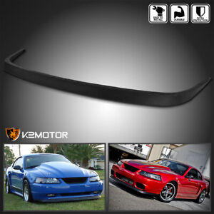 Fits 1999 2004 Ford Mustang Factory Style Front Bumper Lip Spoiler Body Kit