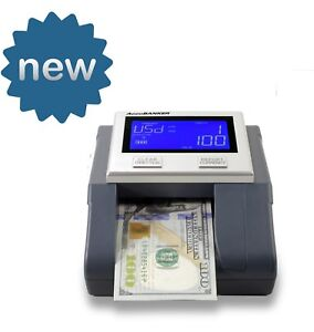 Accubanker D585 Multi scanix Counterfeit Detector 110v Multi currency Mg Ir Uv