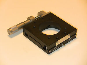 Newport 426a Precision Linear Translation Stage With Sm 25 Micrometer