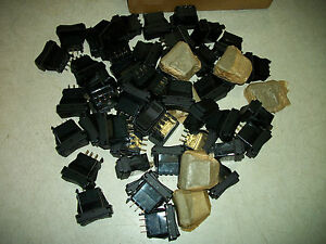 Lot 52 New Honeywell Srn91 17bb Momentary Rocker Switch snap in Style