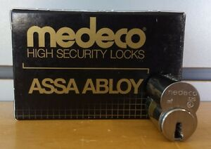 Medeco Large Format Interchangeable Core 32 t 0201 s 26d dl Un pinned Locksmith