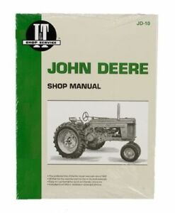 Shop Manual John Deere 50 60 70 Tractor
