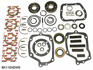 Muncie 4 Speed Transmission Rebuild Kit Max Load Bearings Bk116hdws