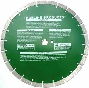 14 Diamond Blade With Industrial Grade For Asphalt And Concrete 5 Pk