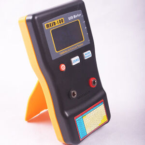 New Mesr 100 V2 Autoranging In Circuit Esr Capacitor Tester Meter 0 001 To 10