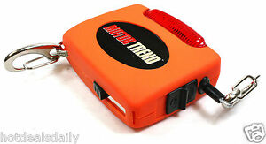 Motor Trend Trunk Extender Tie Down With Flashing Warning Light Retractable New