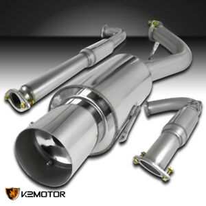 For 95 99 Mitsubishi Eclipse Gst 2 0l Turbo N1 Muffler Catback Exhaust System