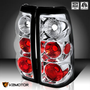 For 2003 2006 Chevy Silverado 1500 2500 3500 Clear Tail Brake Lights Left right