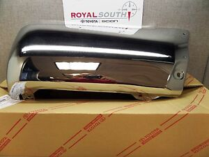Toyota 4runner Chrome Right Rear Bumper End Cap Genuine Oe Oem
