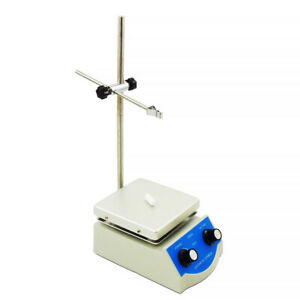 Deluxe Lab Hot Plate With Magnetic Stirrer Dual Controls Fast Shipping