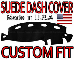 Fits 1998 2001 Dodge Ram 1500 2500 3500 Dash Cover Suede Dashboard Pad Black