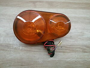 New Kubota K2581 62613 Amber Hazard Tail Light B26 Bx24 Bx25 Series Tractors