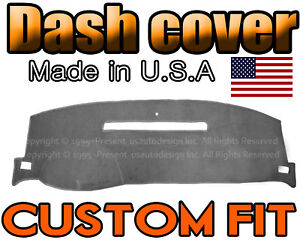 Fits 2008 2013 Chevrolet Silverado 1500 2500 3500 Dash Cover Mat Charcoal Grey