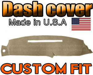 Fits 1997 1998 Chevrolet Silverado Dash Cover Mat Dashboard Pad Beige Color