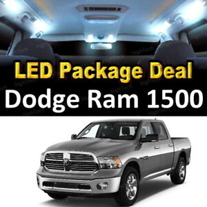 For 2003 2007 2008 Dodge Ram 1500 Led Lights Interior Package Kit White 11pcs