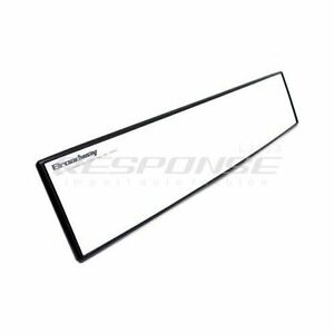 Broadway Bw 851 Aluminum Plated Wide Rear View Mirror 400mm 16 Convex Genuine