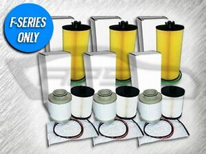 3 Oil Filters 3 Fuel Filter Sets For Ford 6 4l Turbo Diesel Replaces Fd4609