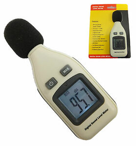 Digital Sound Level Meter 30 130dba Decibel Db Noise Monitor Pressure Tester