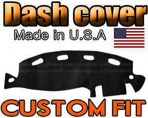 Fits 1998 2001 Dodge Ram 1500 2500 3500 Dash Cover Mat Dashboard Pad Black