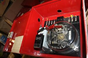 Gamewell Fire Alarm 4 5870 In Cabinet
