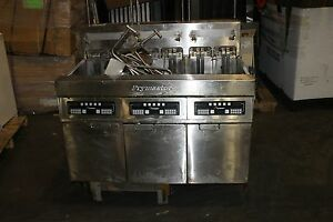 Frymaster Fph317blsc 3 Bank Fryer Deep Fat Fryer